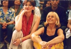 Peirolero e Arcuri nel 1999, primo SUQ